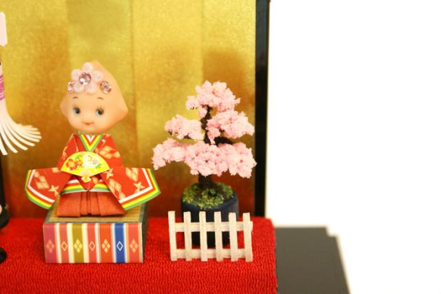 纏まとい雛人形