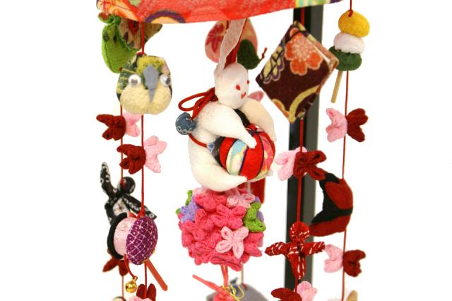 雛人形 久月 吊るし雛 fhs-93
