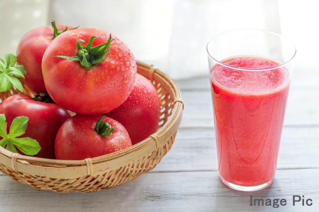 飲むトマト